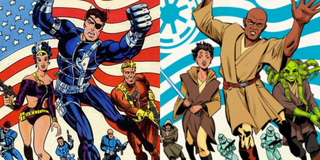 New Marvel Star Wars Comics Recreate Classic Avengers Covers