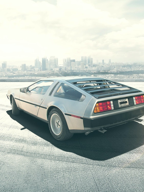 Next year, Marty McFly and Doc's time-traveling DeLorean will once again hit the streets.