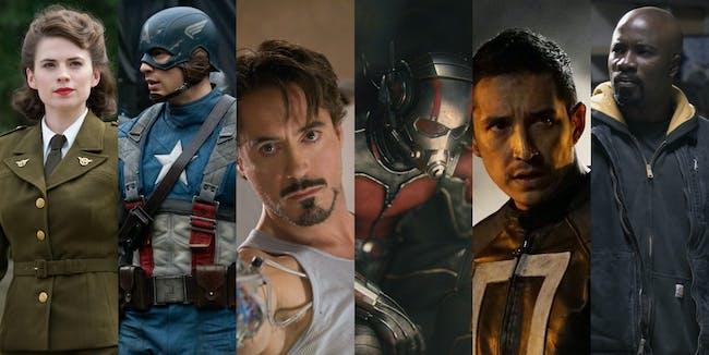 Marvel Cinematic Universe Iron Man Ghost Rider Avengers