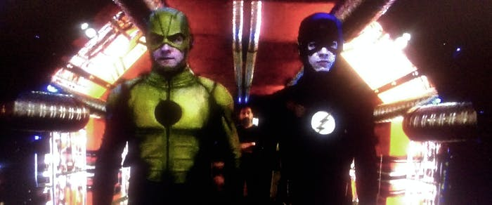 """The Flash must send Reverse Flash back to his original time to save Cisco, on the CW show """"The Flash."""""""
