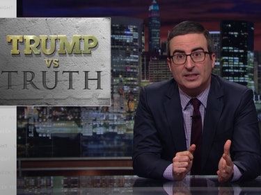 "John Oliver's ""Trump vs. Truth' Has These 4 Basic Questions"