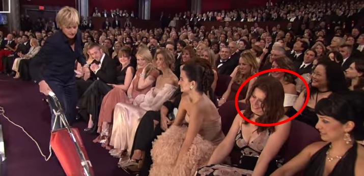 2007 Oscar seat-filler, Brittany Hilgers.