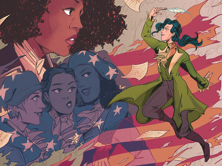 Illustrator Arielle Jovellanos Talks Hamilton and Avengers Fan Art