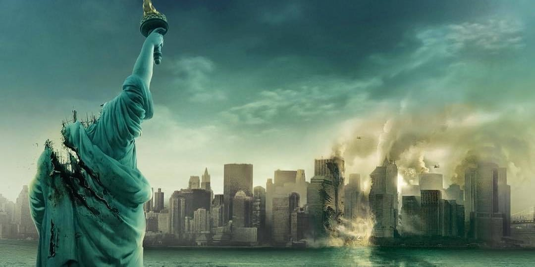 "The poster for ""Cloverfield."""