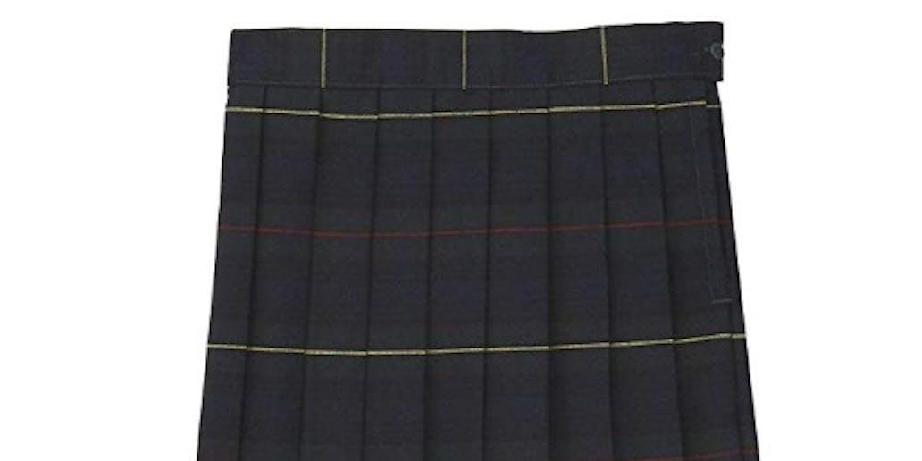 Derry Girls Plaid Skirt