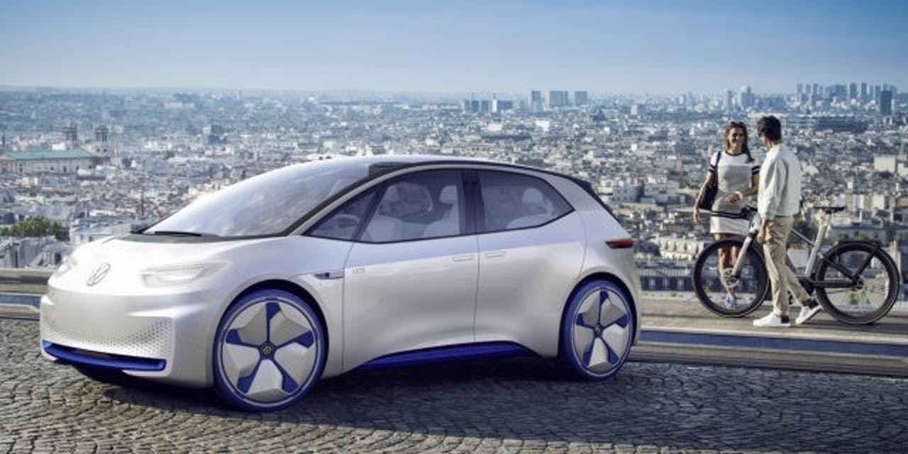 Volkswagen I D Proposal Electric Car Manufacturer Tesla 2020 Production