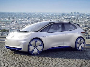 Volkswagen I.D. proposal electric car manufacturer Tesla 2020 production