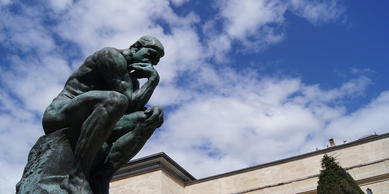Thinker >> Why We Should Poop Like Rodin S The Thinker Inverse