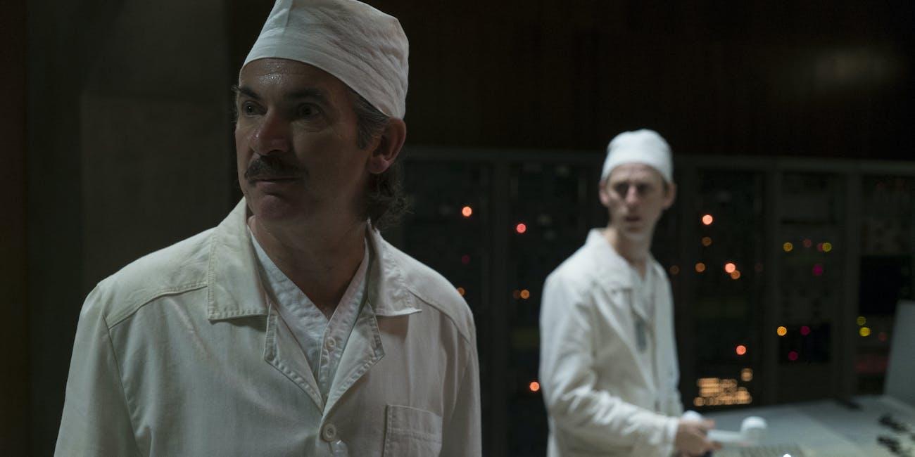 Paul Ritter as Anatoly Dyatlov in 'Chernobyl' on HBO.