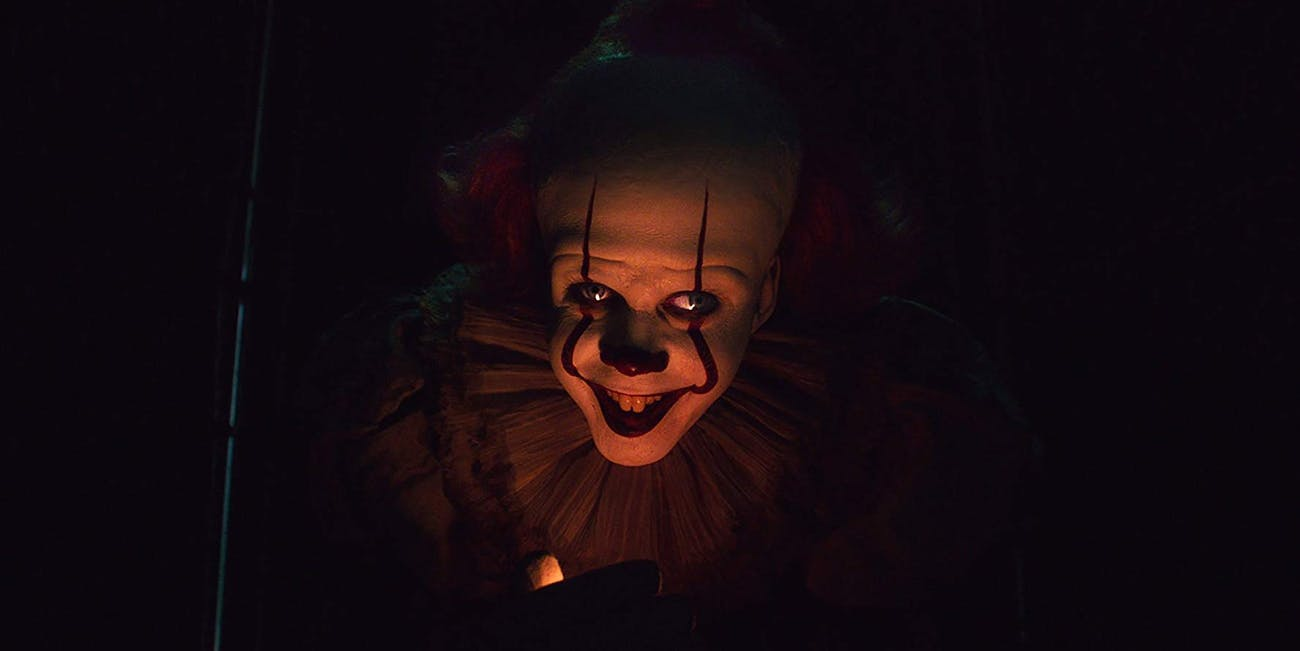 Pennywise (Bill Skarsgard) as seen in the teaser trailer for 'It; Chapter Two'.