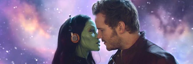 'Guardians of the Galaxy' offers one of many romances in the MCU.