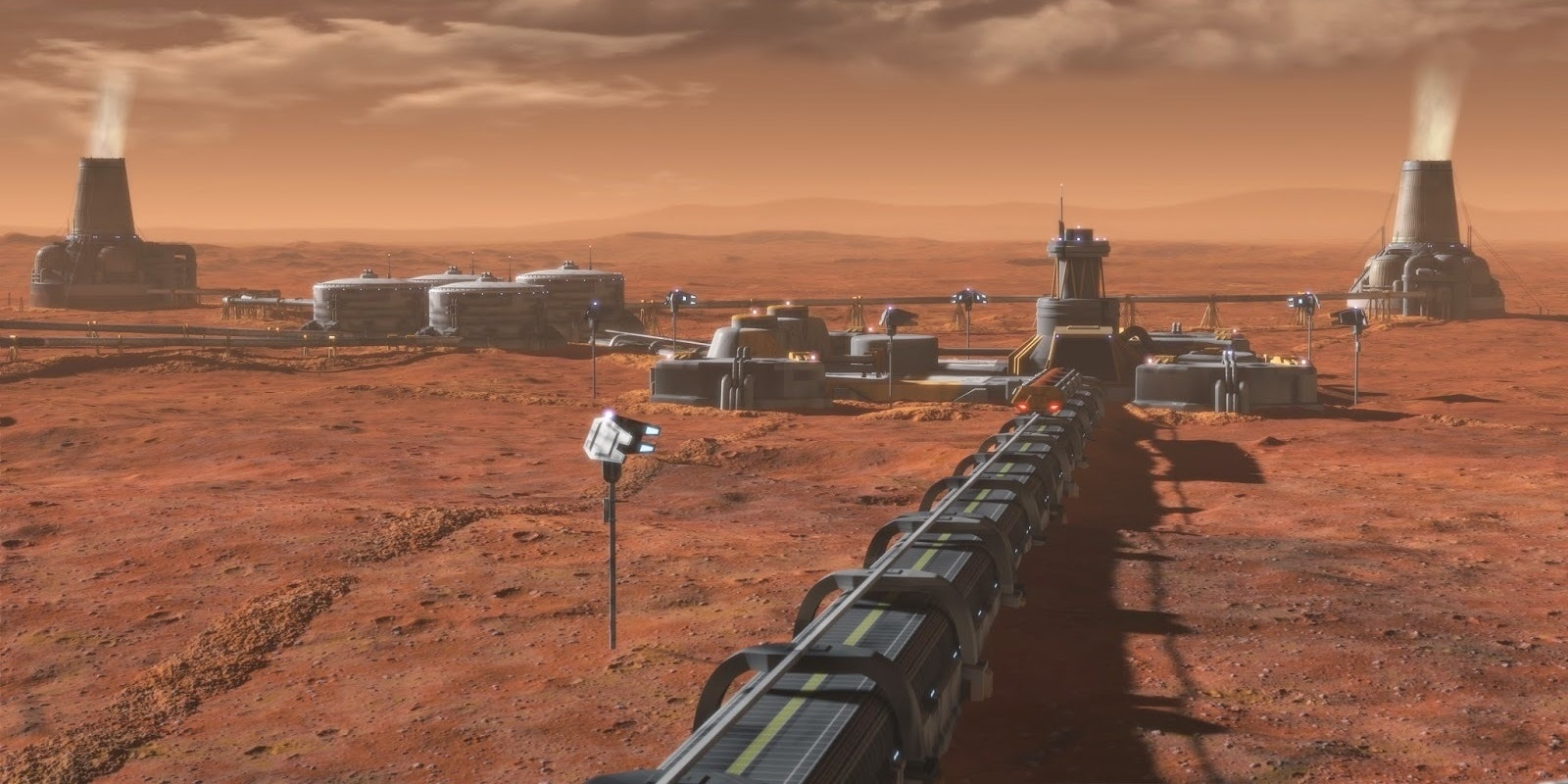 Martian factories will produce the only food on the planet. That means a potential monopoly on life.