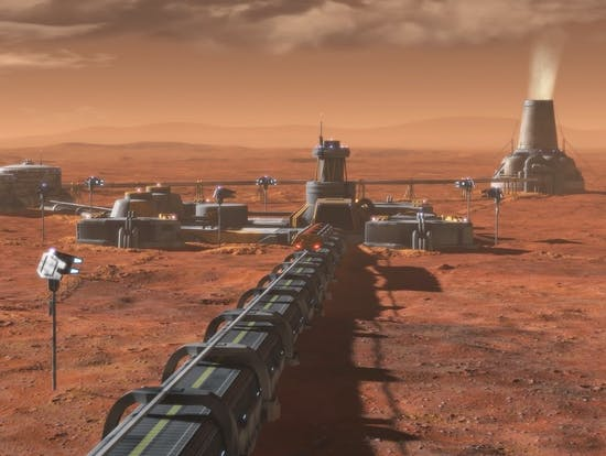 Capitalism Broke Earth, Let's Protect Mars