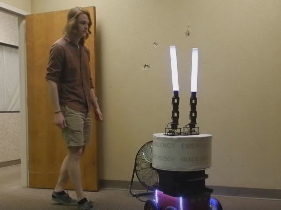 Study Finds We Will Follow Helper Robots -- Even If They're Wrong