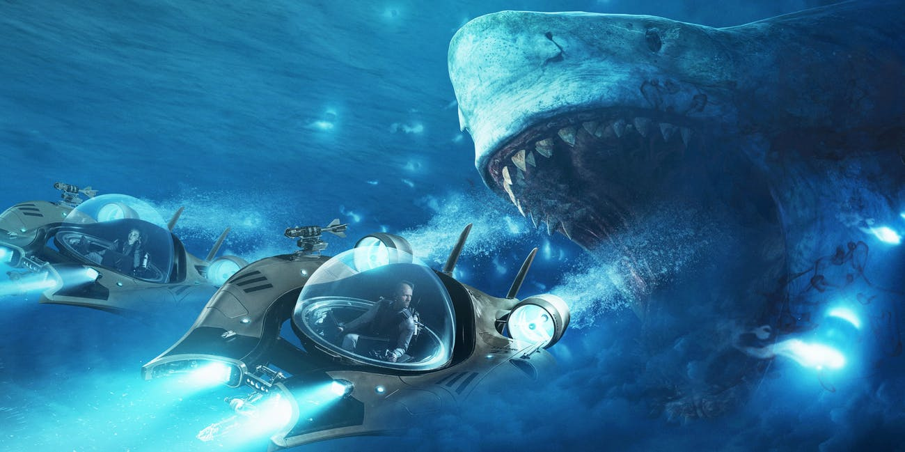 The Meg Review It S A Jason Statham Movie Not A Shark Movie Inverse