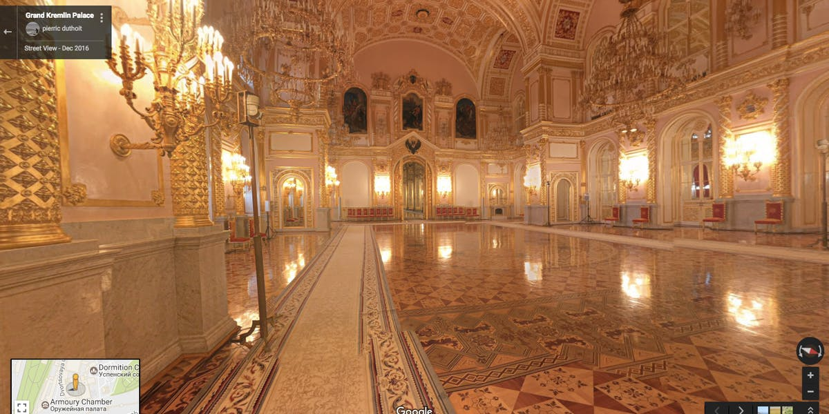 Grand Kremlin Palace, Russia