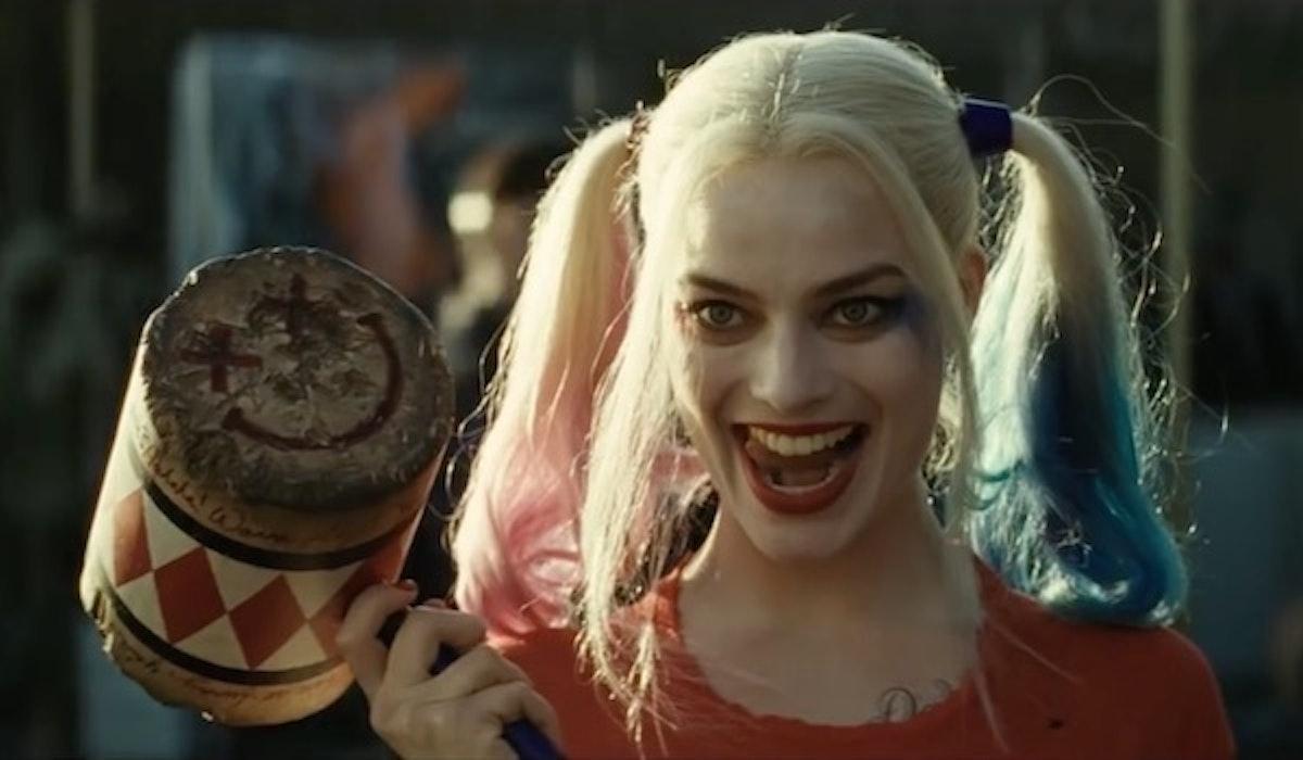 Margot Robbie as villain Harley Quinn in 'Suicide Squad'.