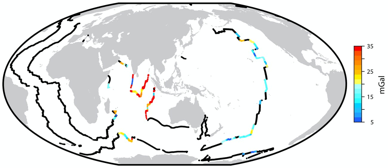 seafloor map