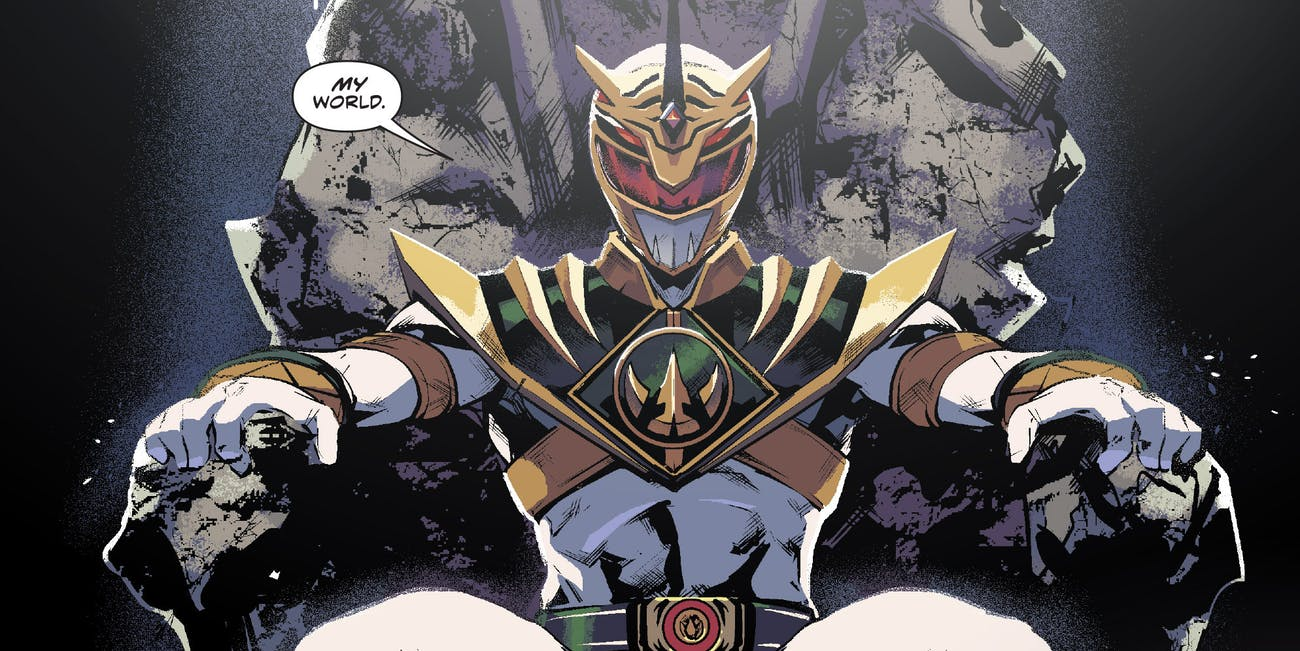 Power Rangers Lord Drakkon Comics