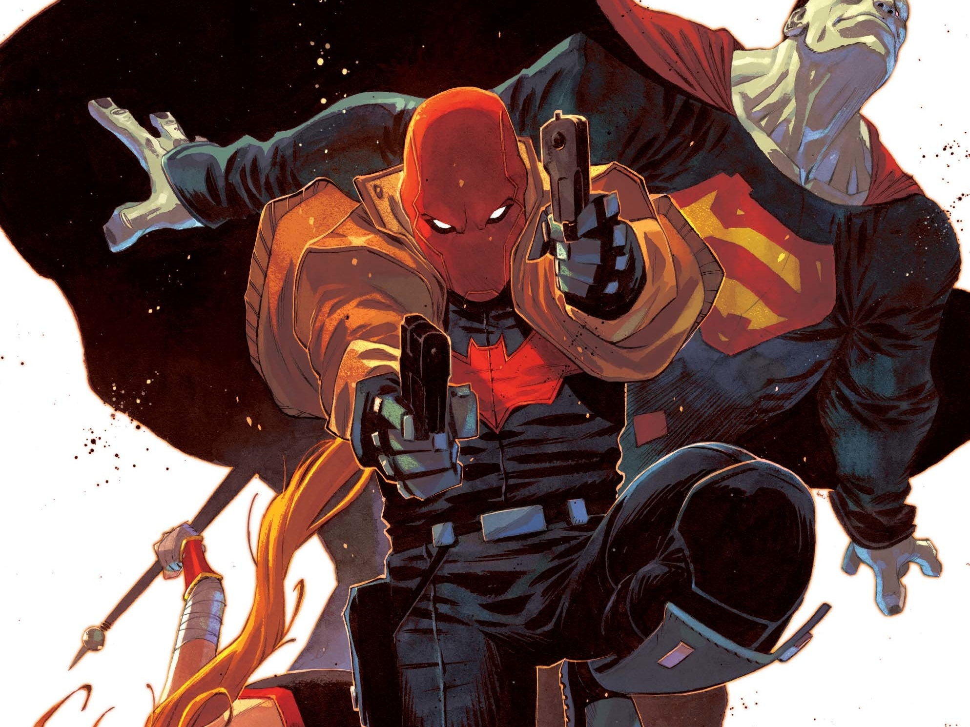 Scott Lobdell Teases Heated Friction In 'Red Hood: Rebirth'