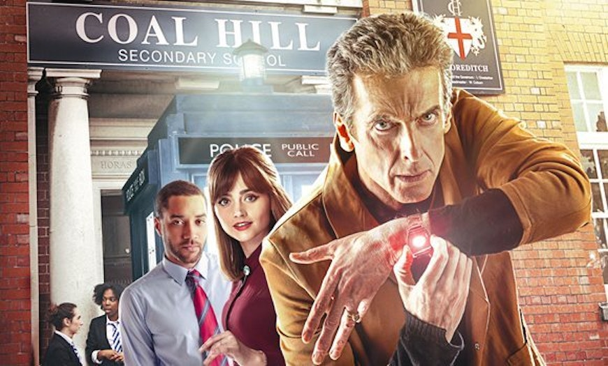 "The 8th season 'Doctor Who' episode ""The Caretaker"" took place at Coal Hill"