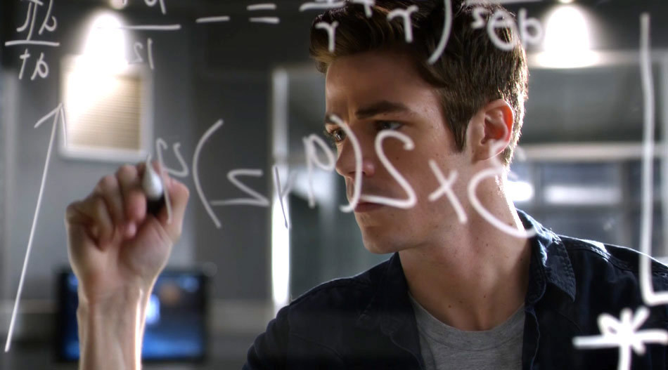 Barry does math to get fast.