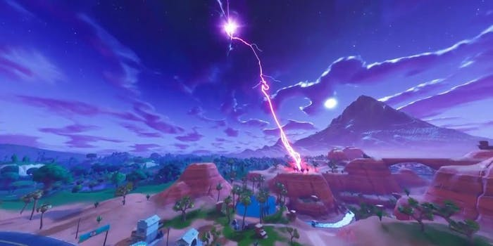 'Fortnite' Lightning