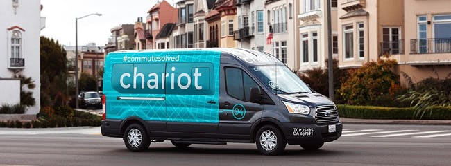 Ford acquired Chariot, the micro-transit commuter van startup from San Francisco that expanded to Austin in October.