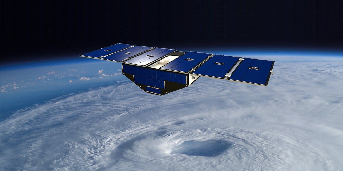 CYGNSS will study surface wind speeds to better understand how hurricanes intensify.