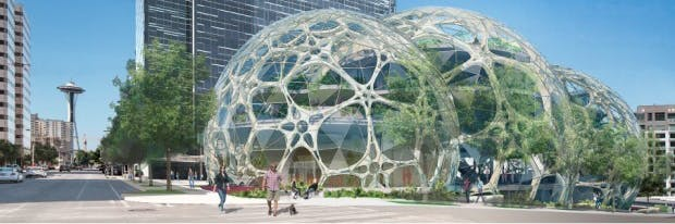 Amazon Biospheres Seattle