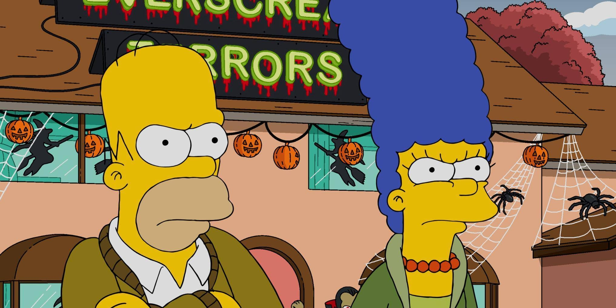 double the halloween episodes, double the trouble for 'the simpsons