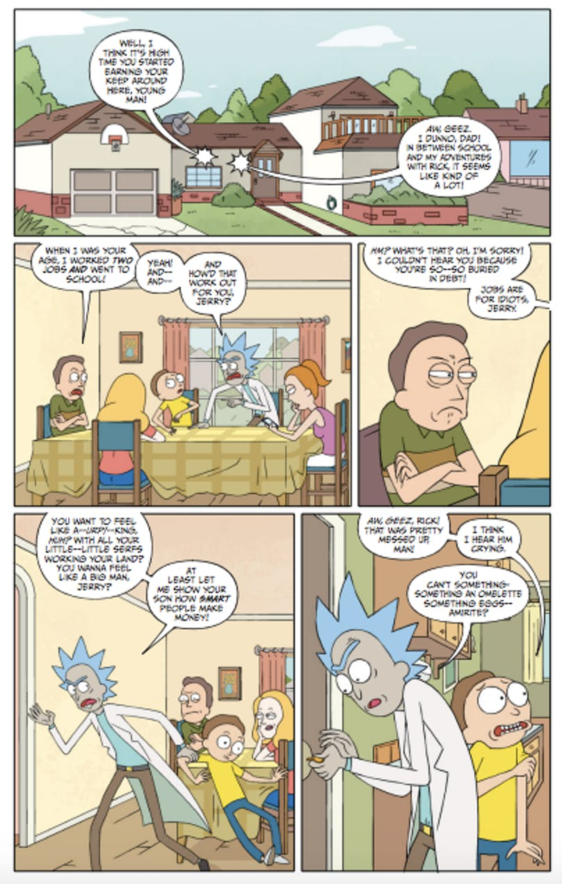 Check Out Free Comic Book Day's 'Rick and Morty' Special