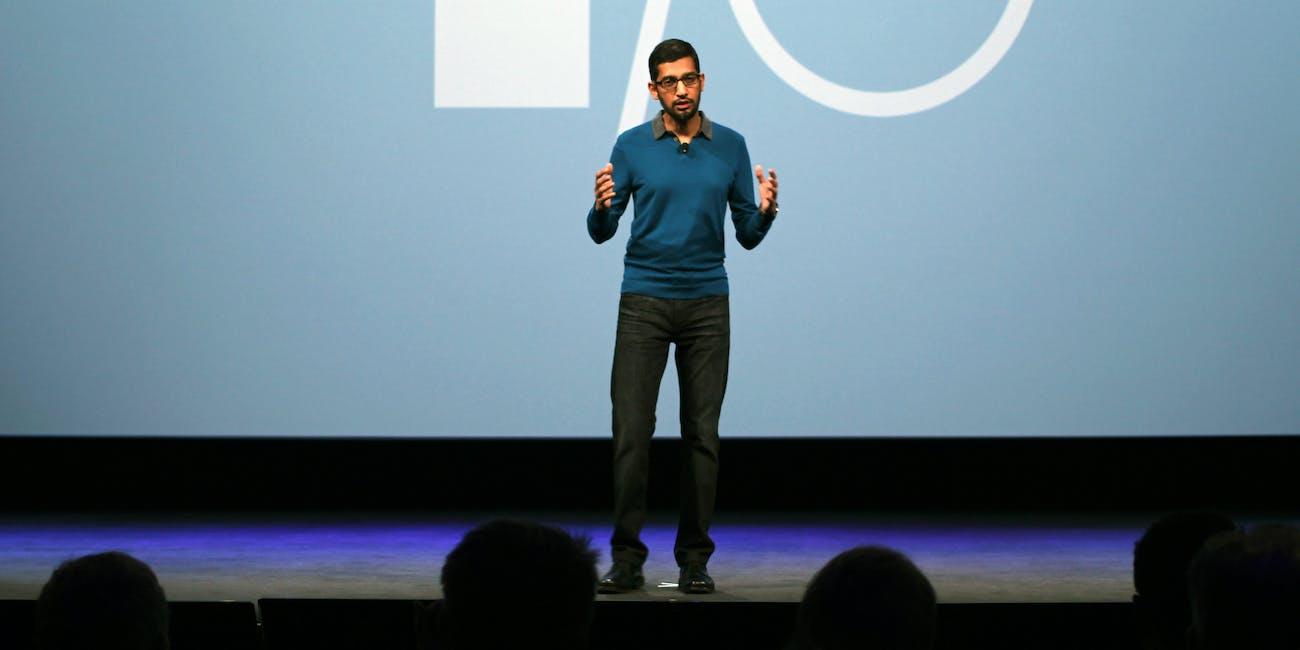 Sundar Pichai, SVP of Android, Chrome and Apps at Google