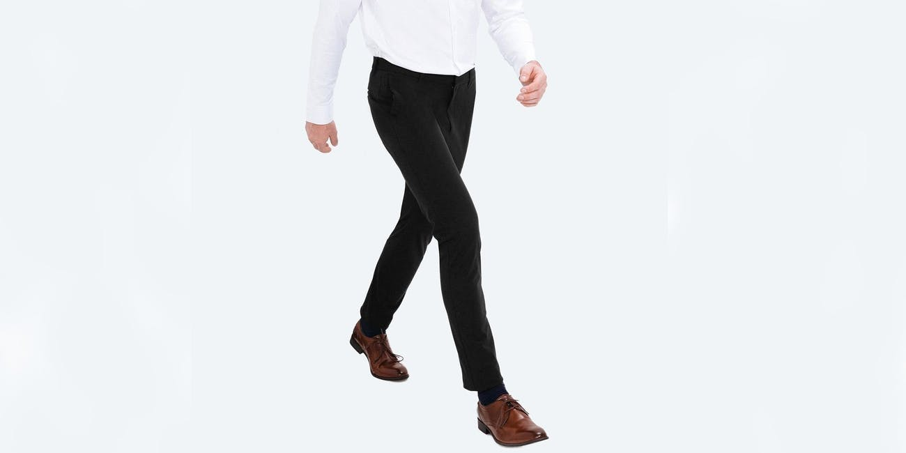 These Kinetic Pants Use Your Body's Natural Heat to Stay Wrinkle Free