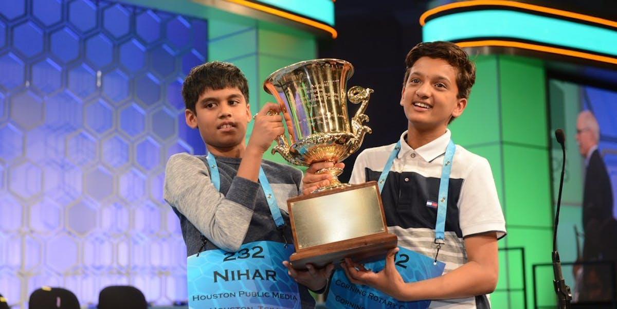 """Nihar """"The Machine"""" Janga and Jairam Hathwar"""
