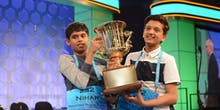 National Spelling Bee Concludes With 2 Champions