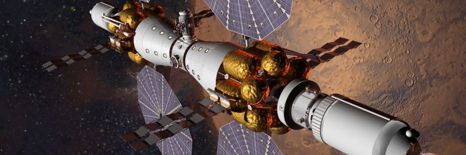 Lockheed Martin will build an orbital base around Mars by 2028.