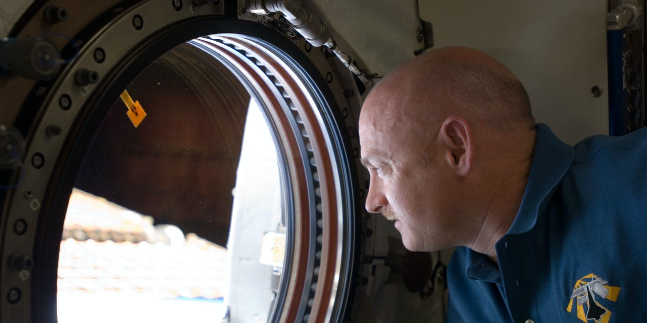 NASA astronaut Mark Kelly.