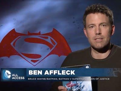 "Ben Affleck, DCU's Batman, Thinks Geoff Johns Is ""A Fucking Genius"""