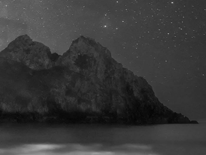 ocean bioluminescence Milky Way