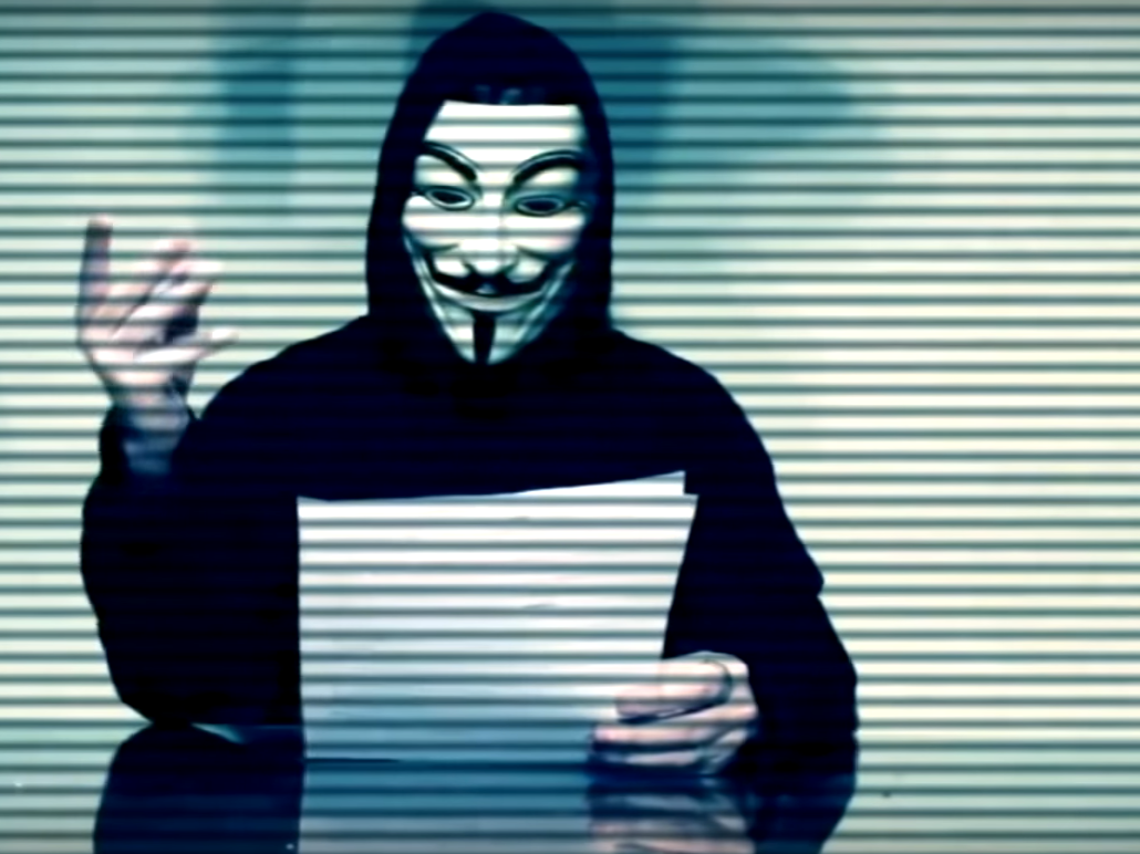 Anonymous Shuts Down Variety of Trump Websites