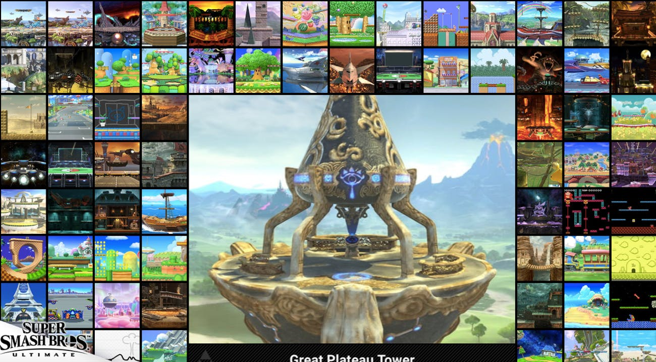 super smash bros ultimate stages