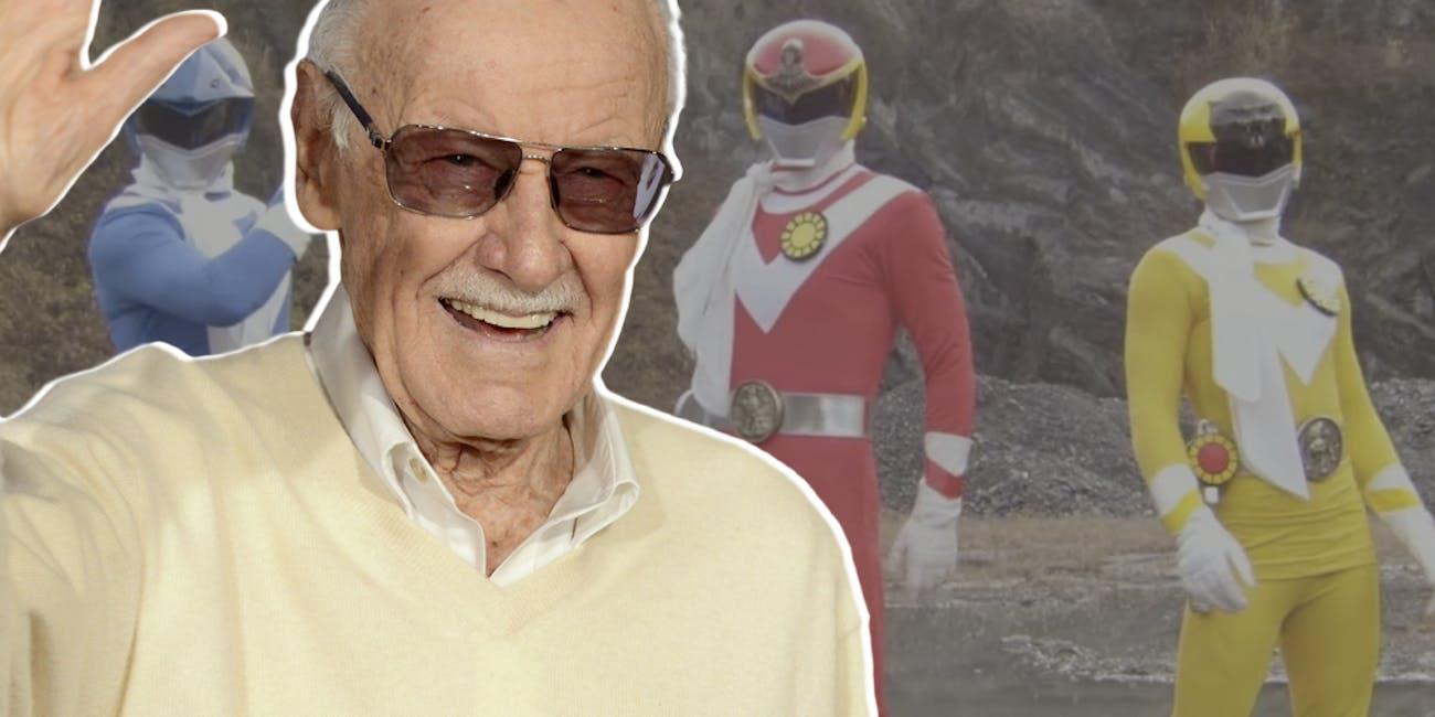 Stan Lee Sun Vulcan Power Rangers