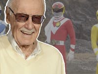 Stan Lee Sun Vulcan Power Rangers