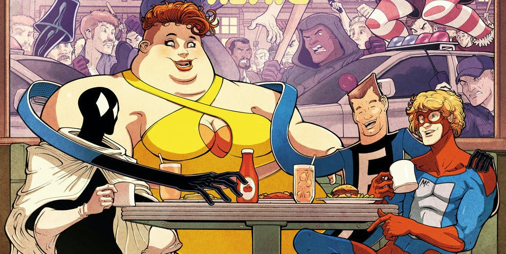 Cover for Marvel's The Great Lake Avengers