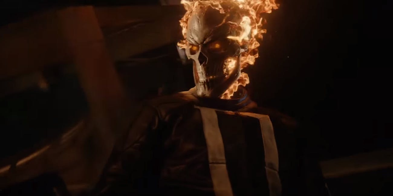 Ghost Rider on Marvel's Agents of SHIELD on ABC