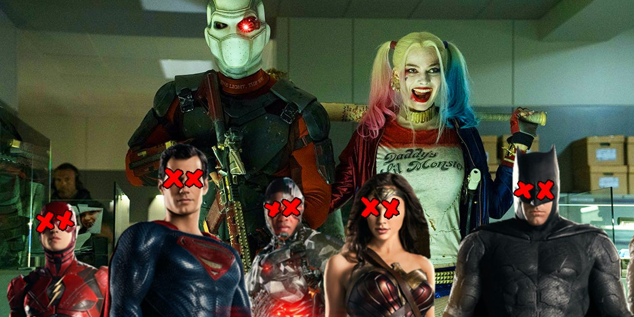 Suicide Squad Justice League