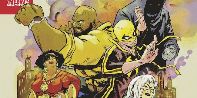 Cover for Marvel's Power Man and Iron Fist