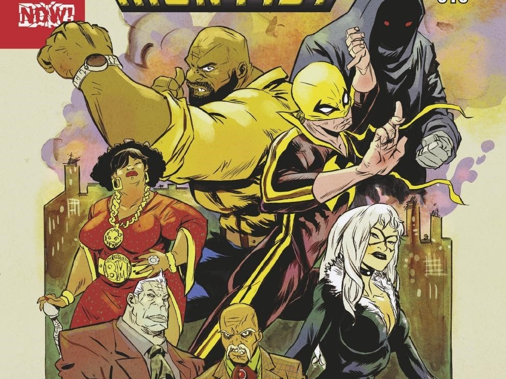 Luke Cage's Harlem Burns in the New 'Power Man and Iron Fist'