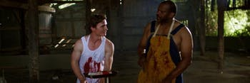 Timothy Haug and Escalante Lundy in 'Attack of the Southern Fried Zombies'.
